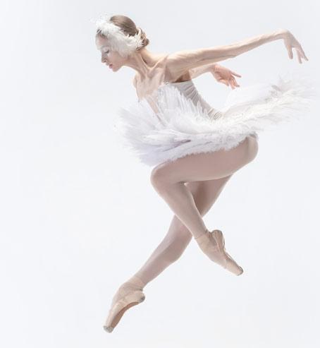 Bailarina representa el bienestar de tus pacientes