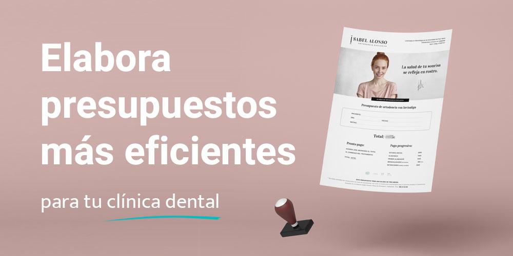 8 formas de mejorar presupuestos en una clínica dental.